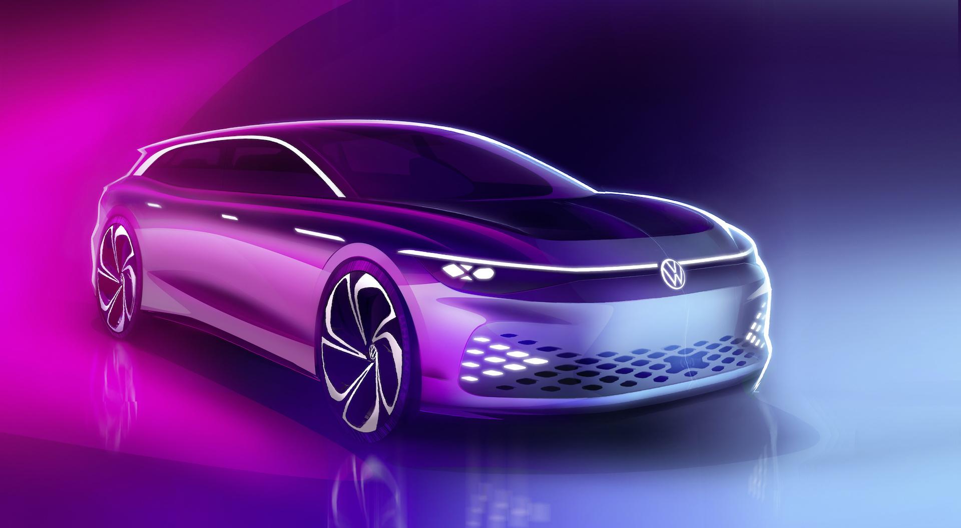 Volkswagen dévoile l'ID. Space Vizzion, un break 100 % électrique