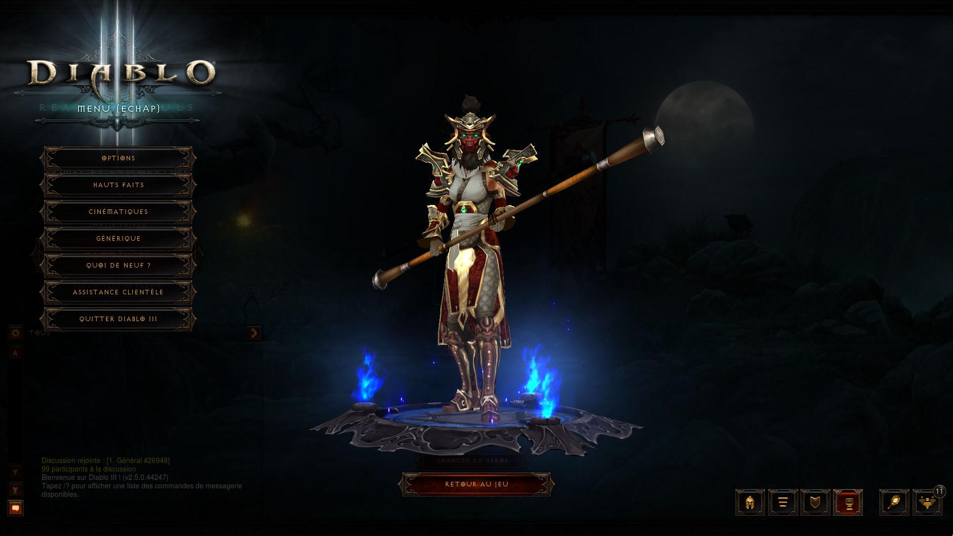 Diablo 3 personnage