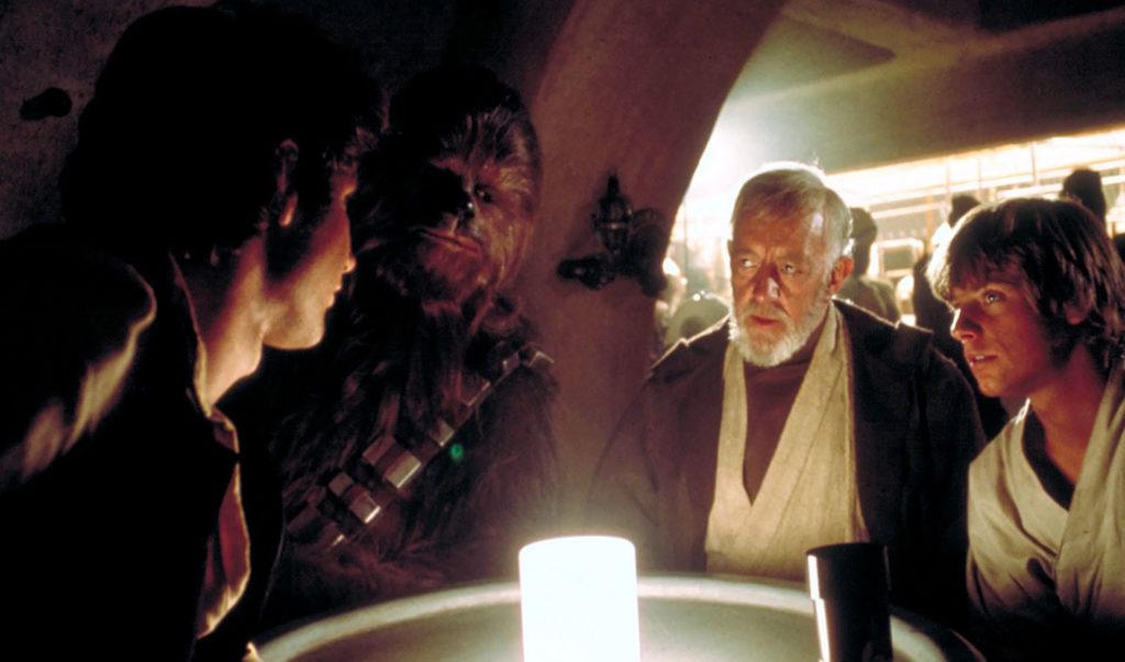 Han Solo Chewbacca Obi-Wan Kenobi Luke Skywalker