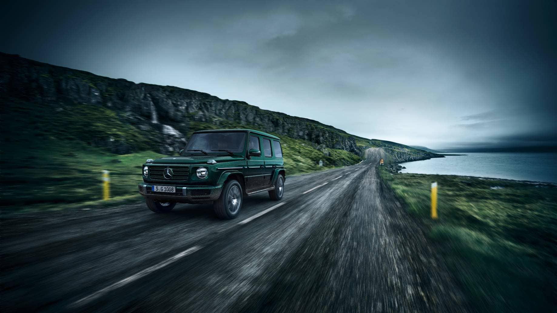 Le tout-terrain Classe G de Mercedes va passer à l'électrique