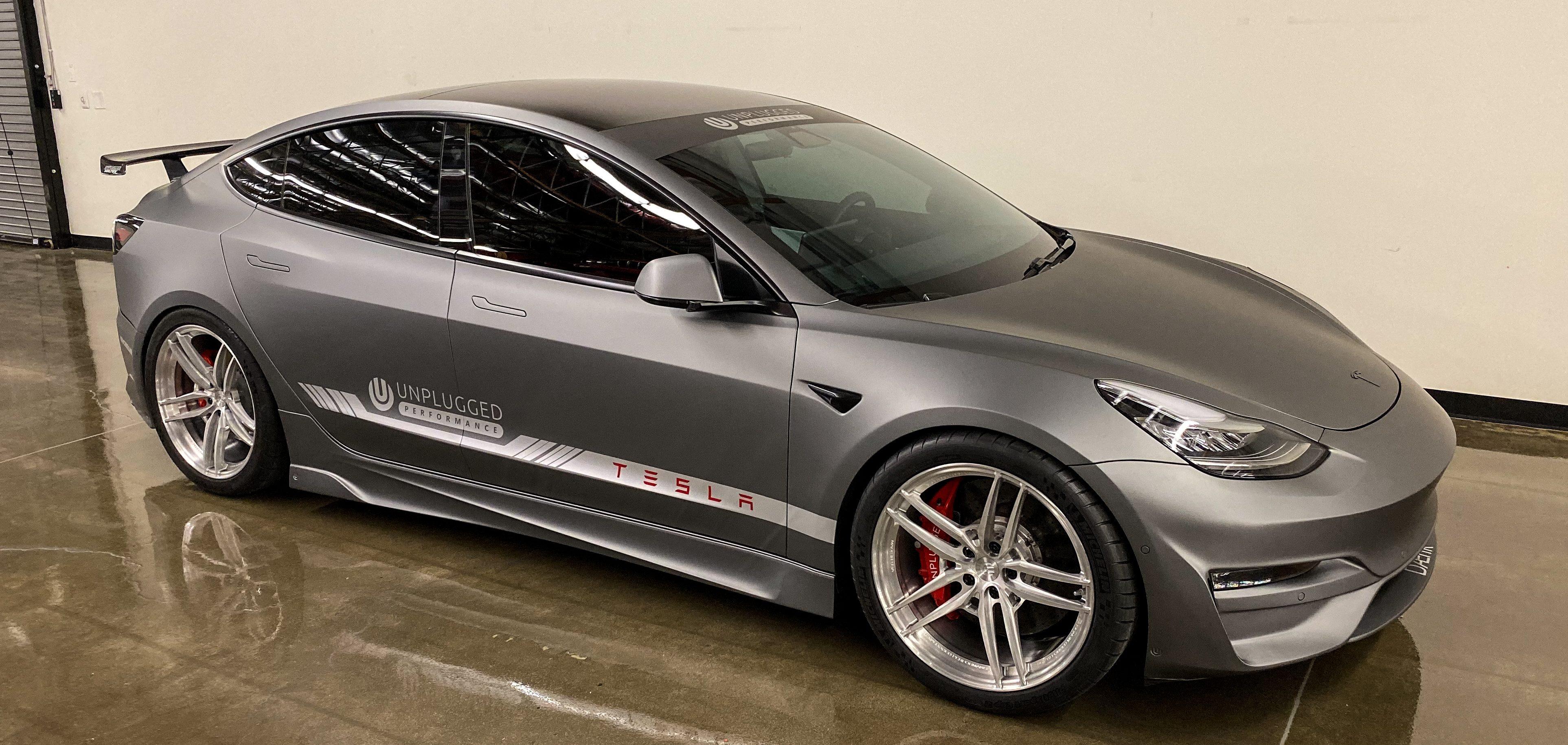 Cette Model 3 Performance modifiée est parée pour le prochain Fast & Furious