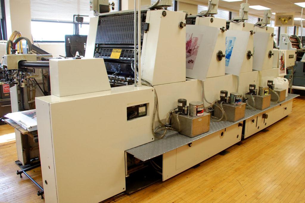 imprimante komori