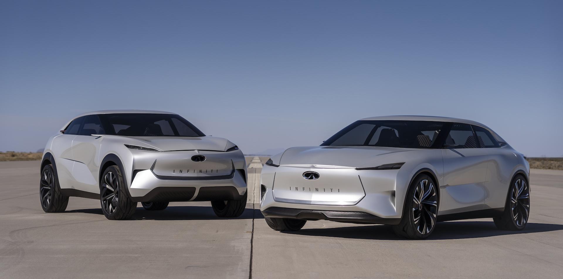 Infiniti va inclure un générateur à essence dans certaines voitures électriques