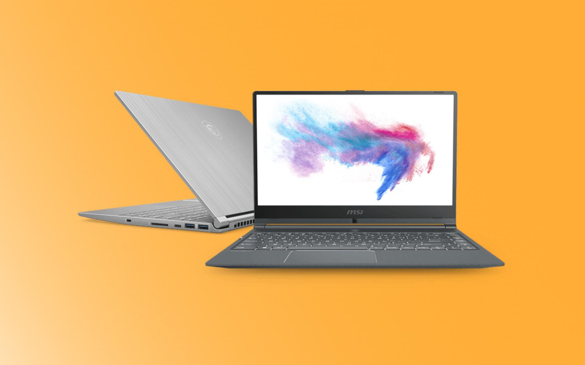 Modern 14 : MSI dégaine un laptop pour les pro qui ont la bougeotte