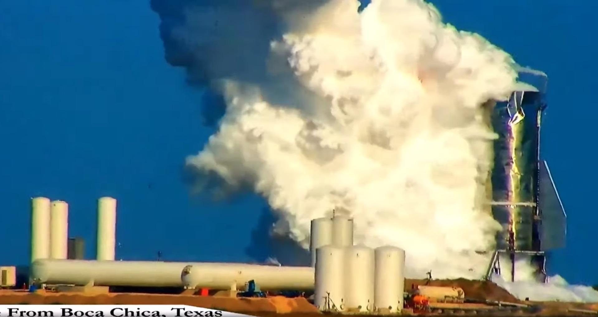 SpaceX : un prototype de fusée Starship a explosé pendant un test