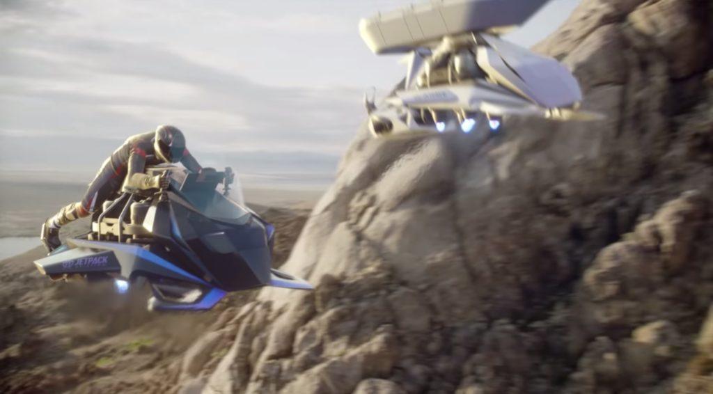 Une entreprise va construire un prototype de moto volante digne de Star Wars - Numerama