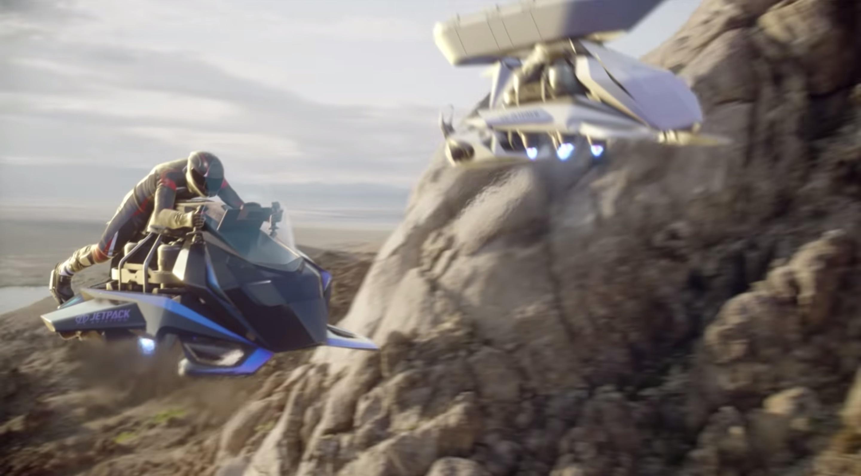 Une entreprise va construire un prototype de moto volante digne de Star Wars