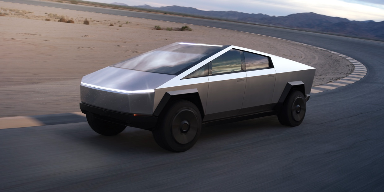 Tesla Cybertruck : découvrez le pickup sorti d'un film de science-fiction
