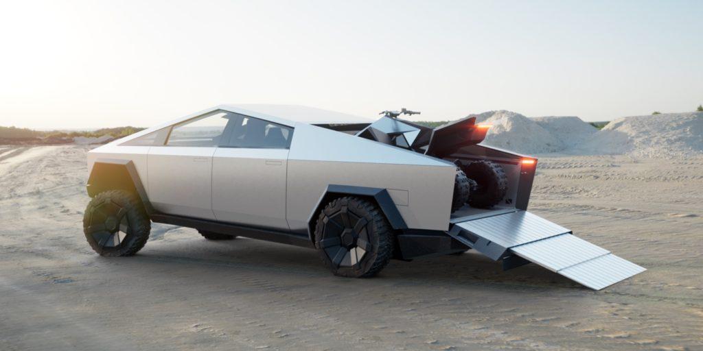 Tesla lancera son Cyberquad fin 2021
