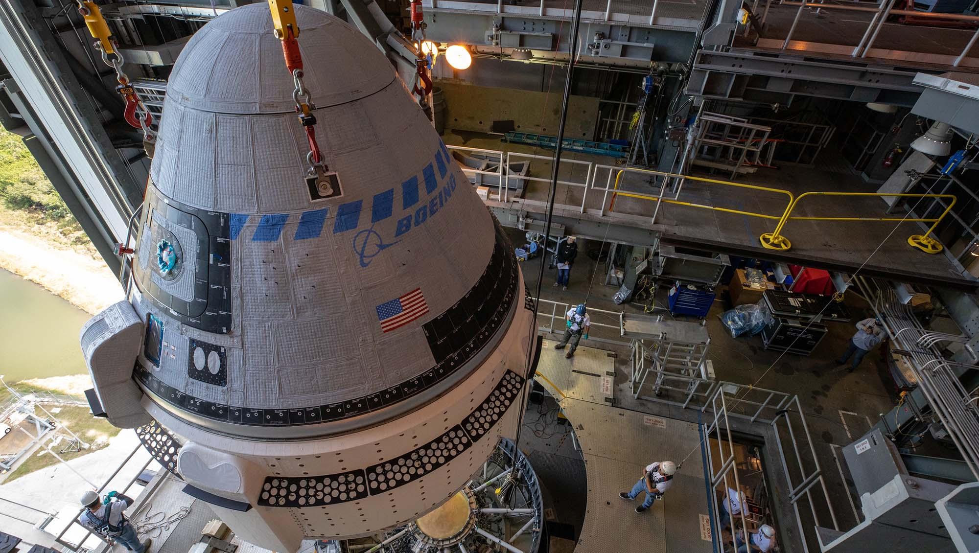 Boeing n'a plus que deux semaines pour se préparer à son vol d'essai inhabité vers l'ISS