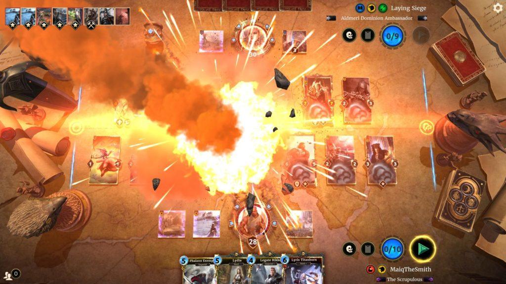 Bethesda lâche son jeu de cartes The Elder Scrolls: Legends