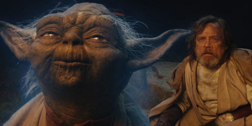 Yoda Luke Skywalker