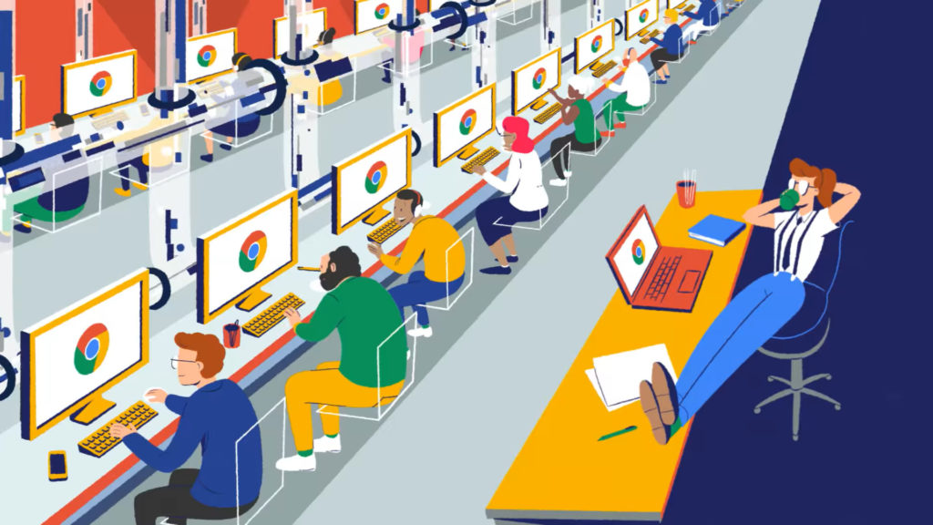 Google Chrome entreprise