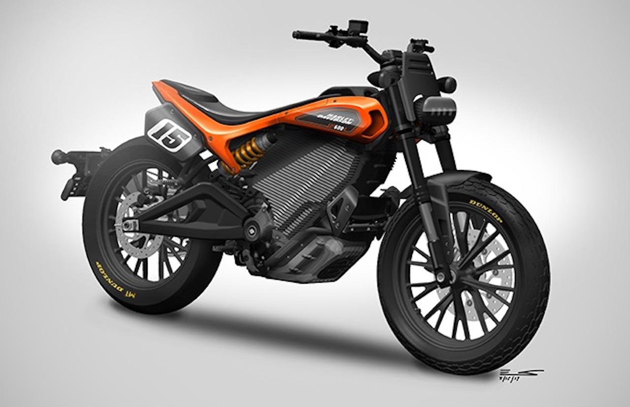 Harley-Davidson présente un nouveau concept de moto électrique plus sportive