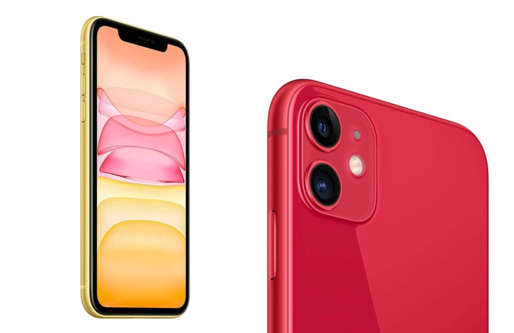 iphone 11 jaune et rouge 1024x663 - Deal of the Day: iPhone 11 is 50 euros cheaper - Numerama