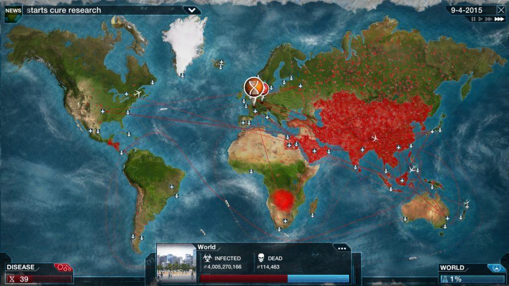 Plague Inc jeu vidéo