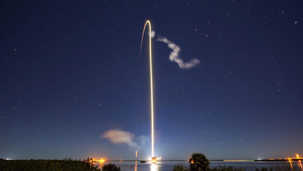 Starlink fusée lanceur SpaceX Falcon 9