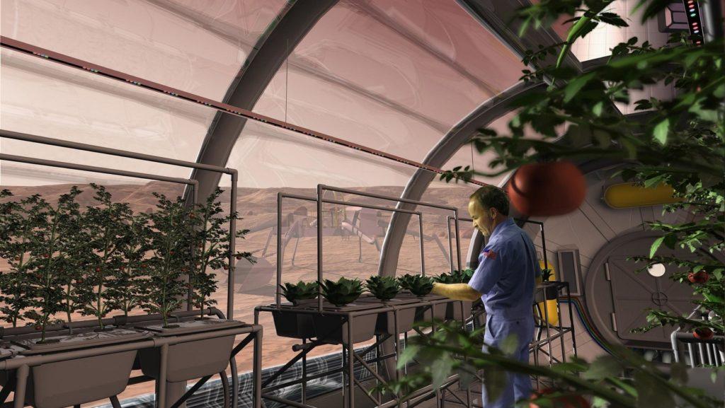 Concours Mars Society pour une cité-état de 1 000 000 personnes sur Mars 2048px-mars_greenhouse-1024x577