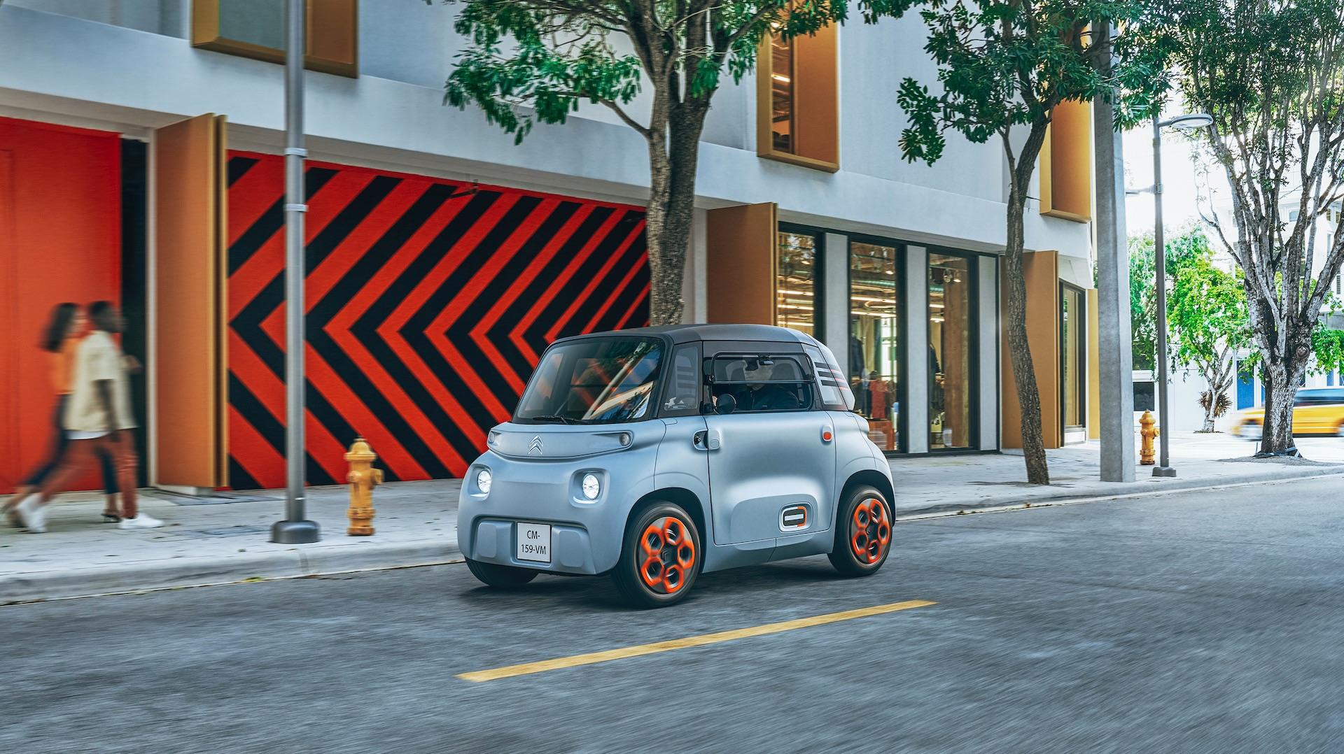 Électrique, sans permis, accessible à 20 euros par mois : la nouvelle voiture de Citroën ose tout