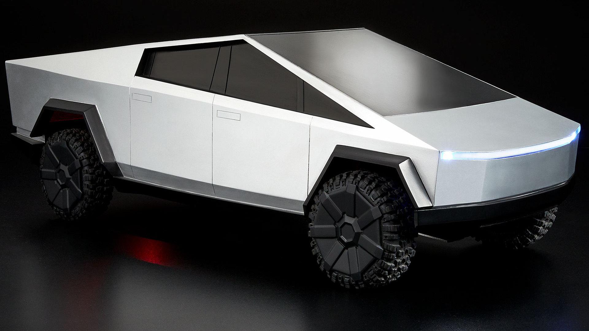 Hot Wheels ne veut pas que j'achète un mini Tesla Cybertruck télécommandé