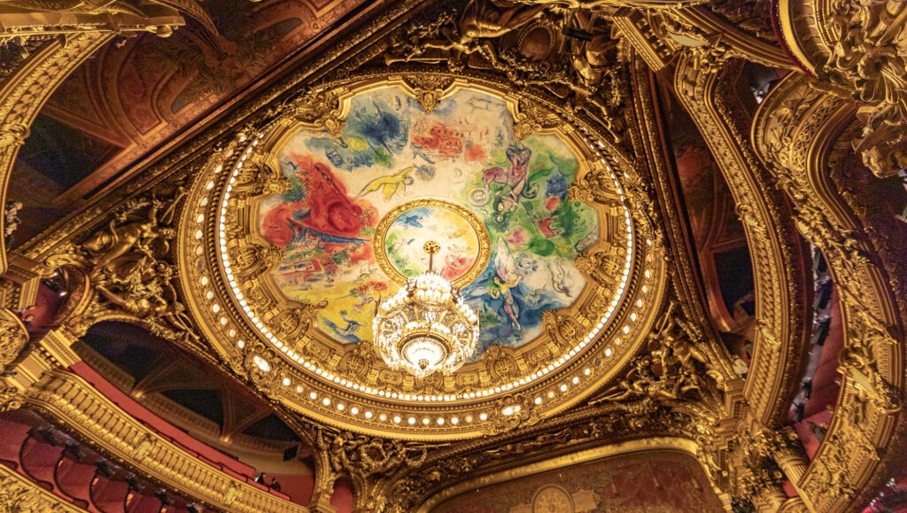 plafond opéra de paris palais garnier