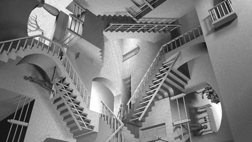 Représentation 3D Escher