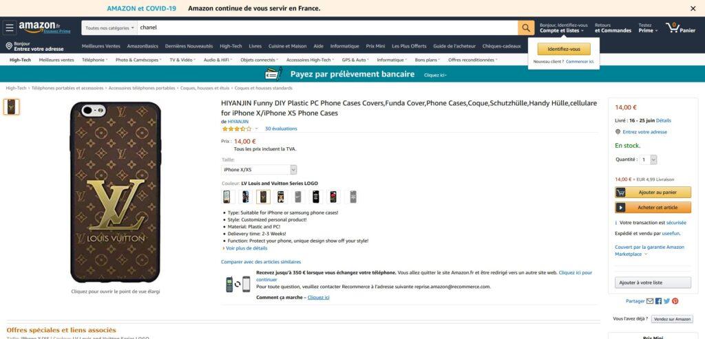 Amazon produit