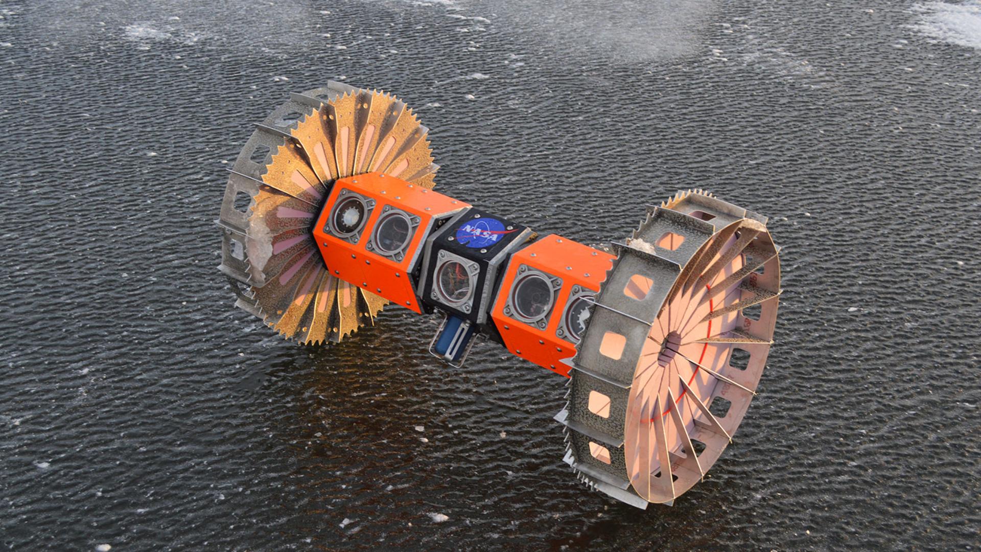 Cet adorable rover aquatique pourrait aider à chercher la vie extraterrestre