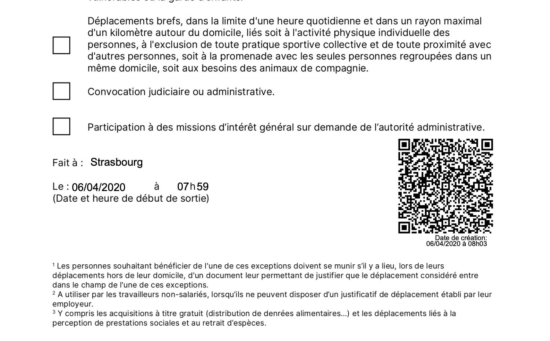 Attestation De Deplacement Numerique Comment Fonctionne Covidreader L Application Des Policiers