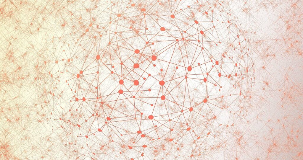 mesh réseau contact connexion liaison