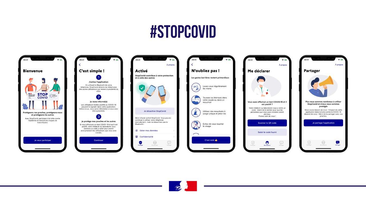L'application StopCovid sortira mardi 2 juin à midi sur iOS et Android