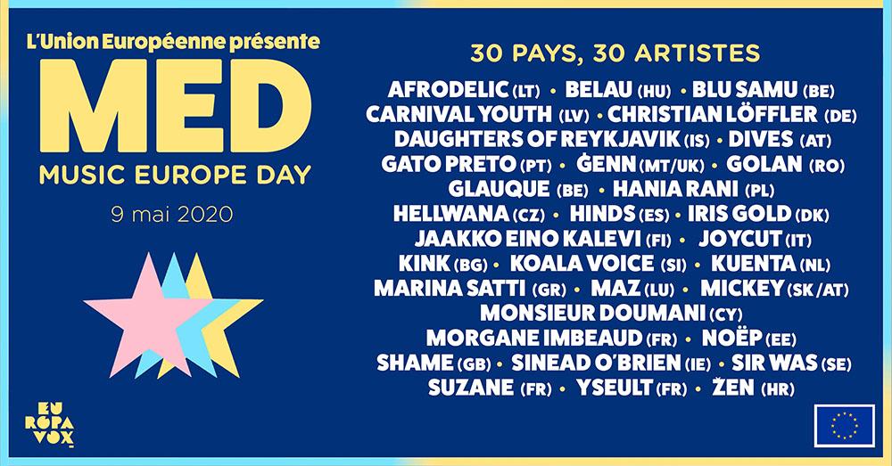 Journée europée e-festival concert