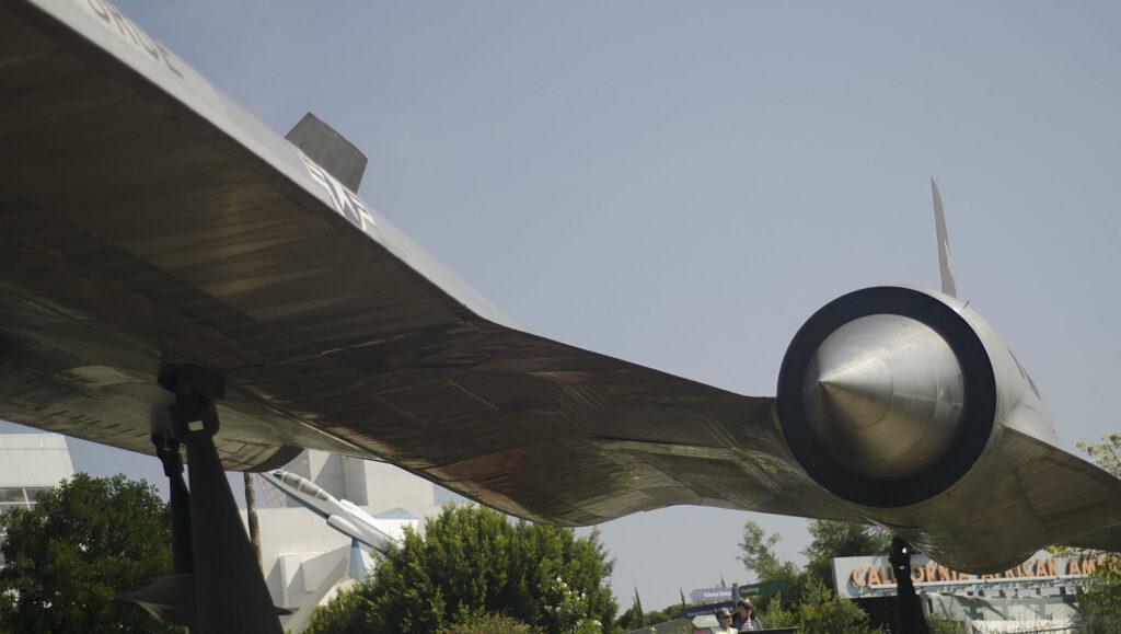 Lockheed A-12 Oxcart moteur