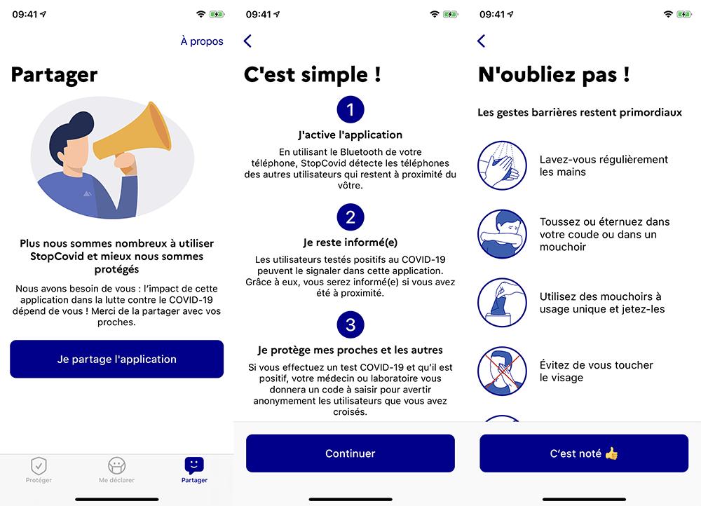 Application StopCovid