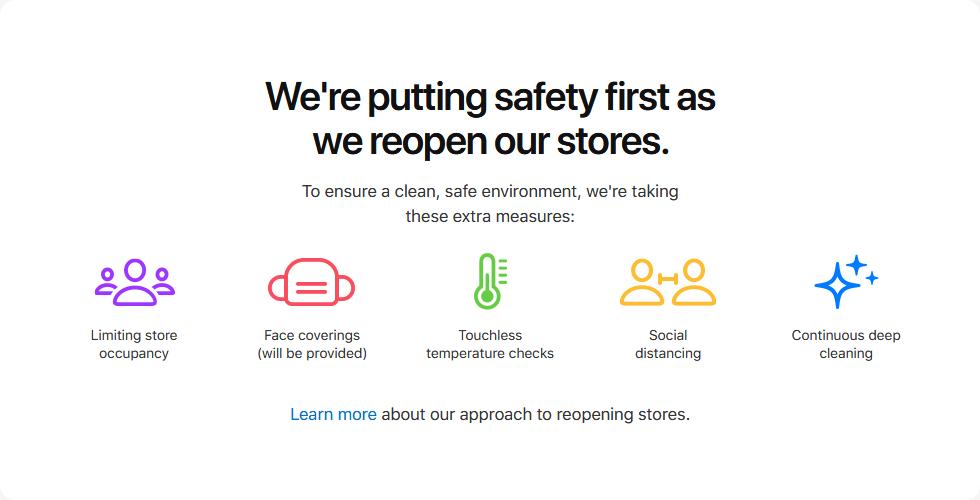 Apple Store température