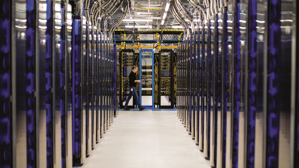 centre de données data center microsoft