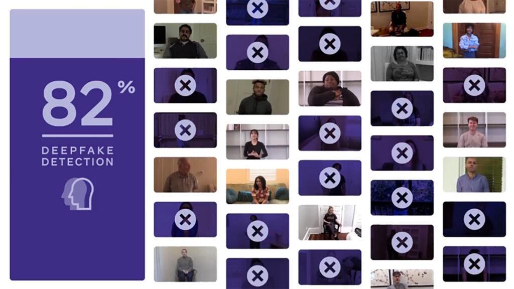 détection Deepfake Facebook