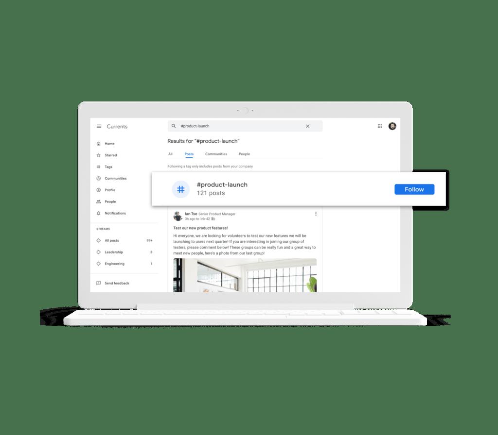 Google Currents visuel