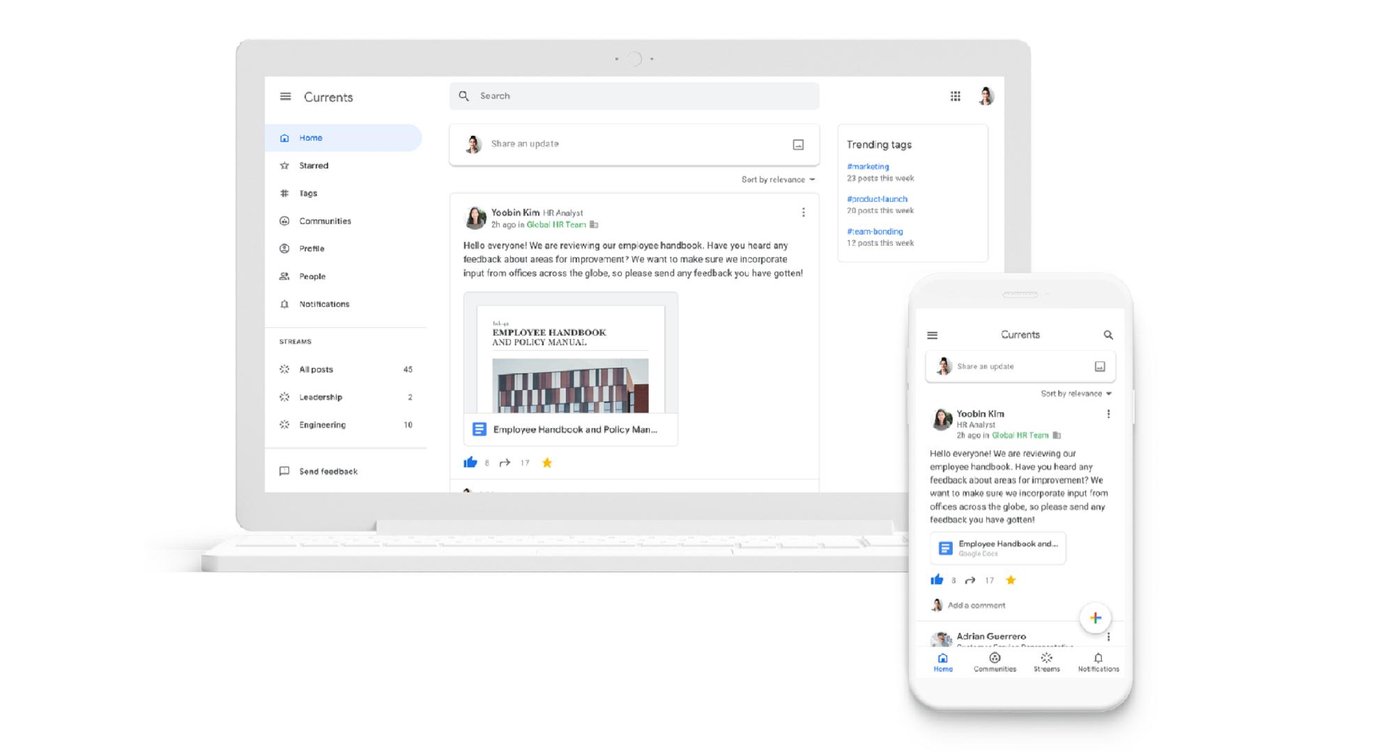 Qu'est-ce que Currents, le nouveau service de Google qui sortira en juillet ?