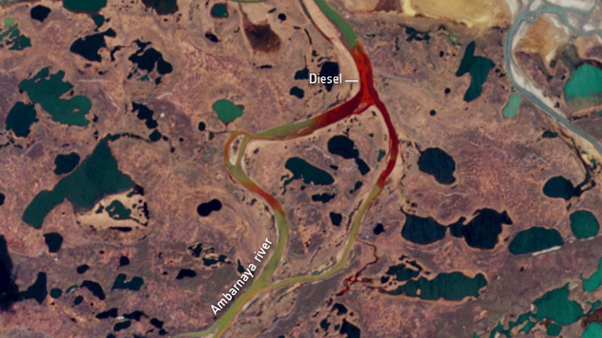 Une catastrophe écologique inédite a lieu depuis plusieurs jours en Russie arctique