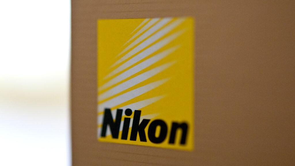 Nikon logo appareil photo