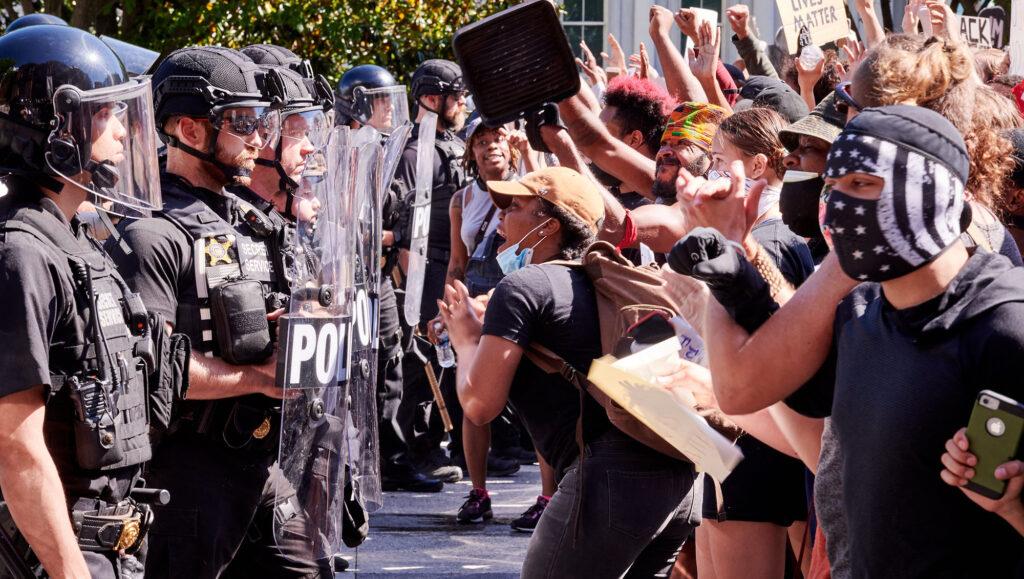 police manifestation floyd
