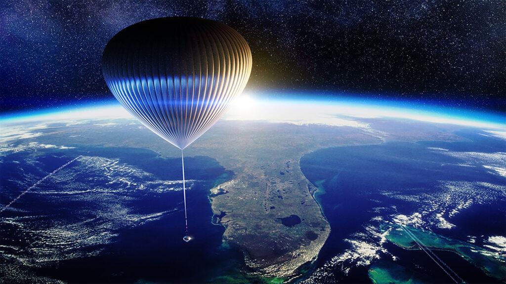 terre capsule space perspective ballon stratosphérique