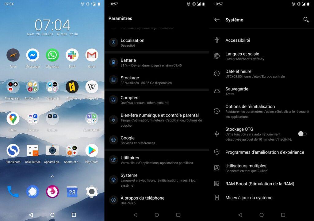 Android Effacement de données