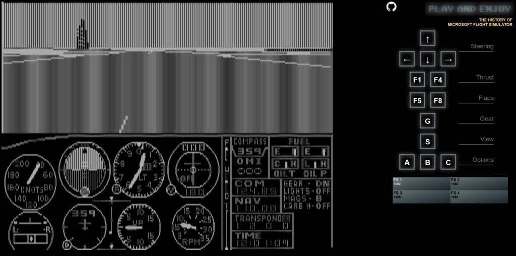 Flight Simulator 1982
