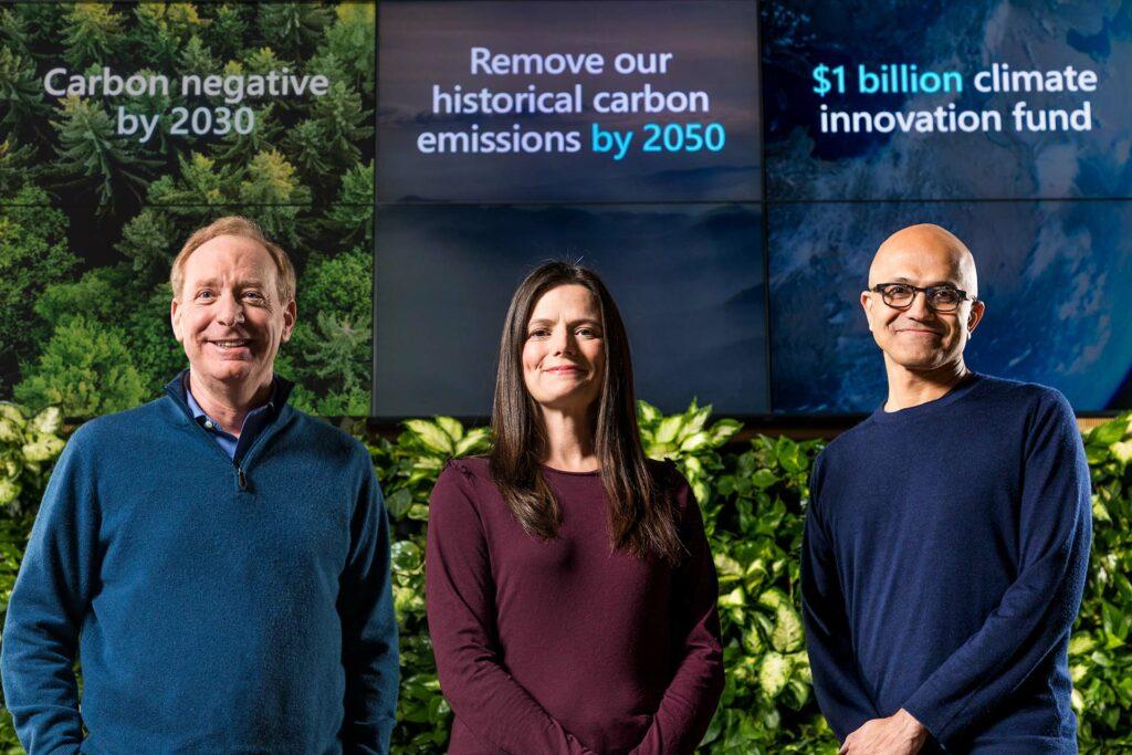 Microsoft climat