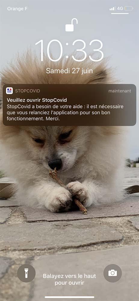StopCovid iOS