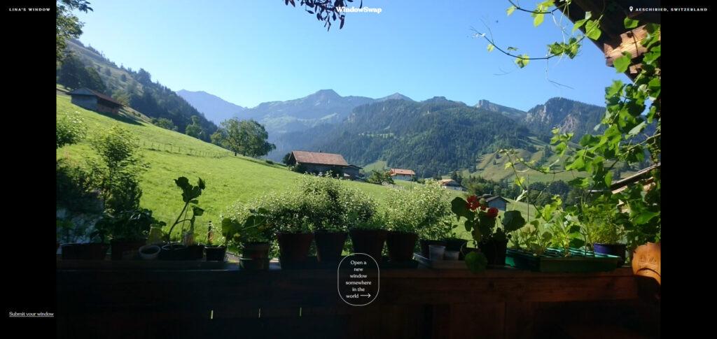 Suisse WindowSwap