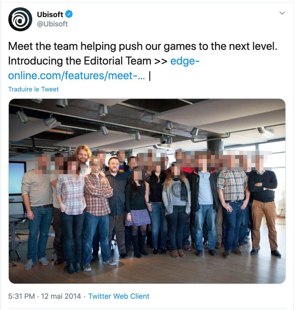 Actualités - Harcèlement sexiste et sexuel à Ubisoft: «Il a tenté de m'embrasser, tout le monde rigolait»