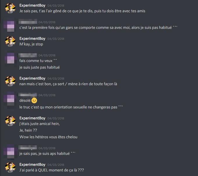 Actualités - «Il faut que ça cesse»: enquête sur ExperimentBoy, Youtubeur accusé de corruption de mineurs